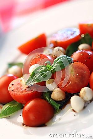 Free Caprese Salad Royalty Free Stock Photos - 19709758