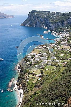 Free Capri Coastline Stock Photos - 14996233