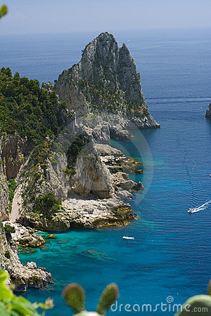 Free Capri Coastline Royalty Free Stock Image - 2491466