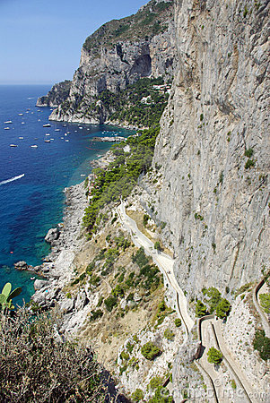 Capri coastline - Italy