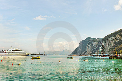 Capri island..