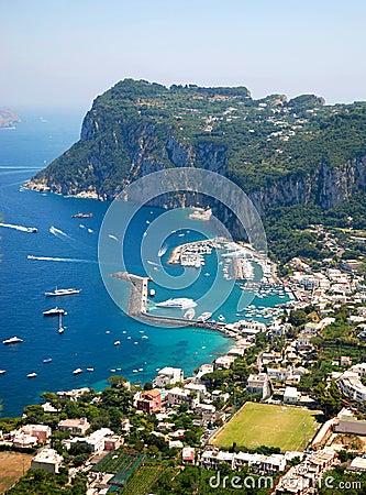 Free Capri Island Stock Image - 2850721