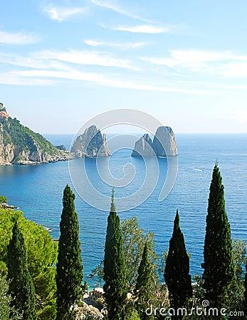 Free Capri Island Royalty Free Stock Image - 3400976