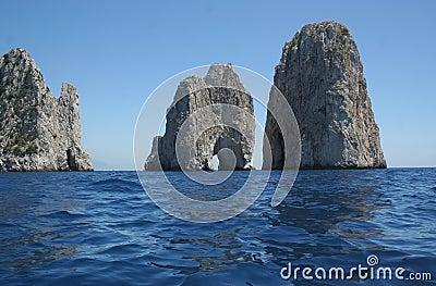 Capri Italy Faraglioni