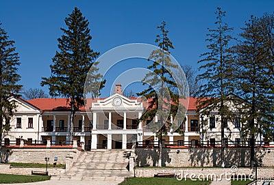 Capriana monastery, main building
