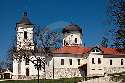 Capriana monastery, the stone church