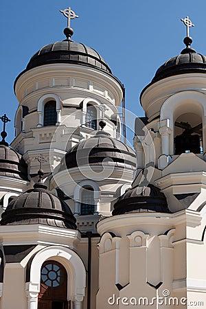 Capriana monastery, the winter church