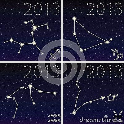 Capricorn, aquarius, sagittarius, pisces 2