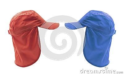 Caps with Hoods