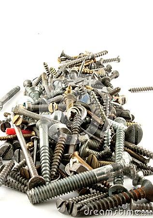 Caps nails bolts