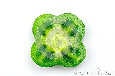 Capsicum slice
