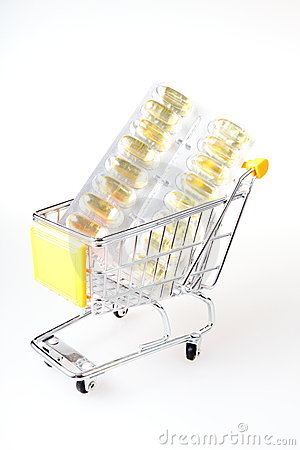 Capsule in trolley