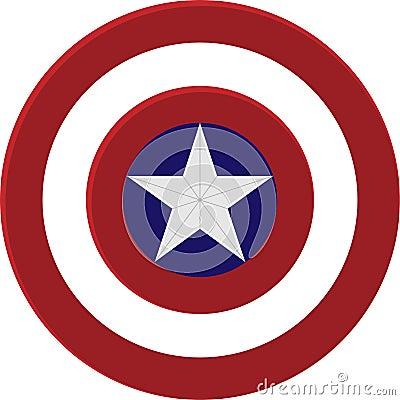 Free Captain America Shield Stock Photo - 121017610