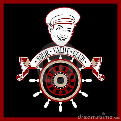 Captain yacht label