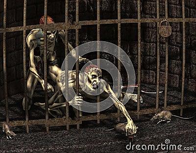 Captive zombies