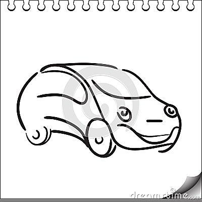 Carácter del coche