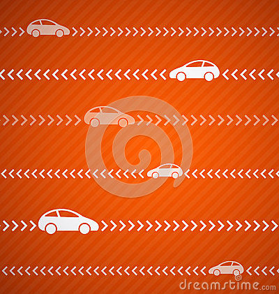 Car abstract background with stripes