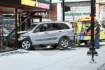 Car accident Editorial Photo