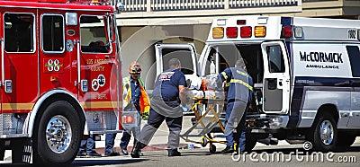Car accident Editorial Image
