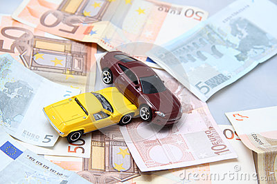 Car accident and money