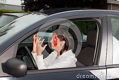 Car accident panic