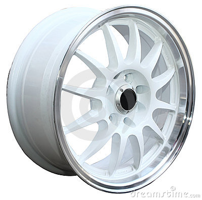 Car alloy wheel