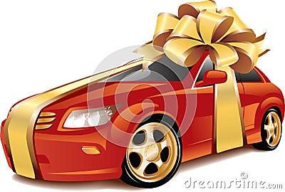Car as a gift