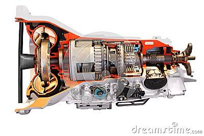 Car automatic transmission part