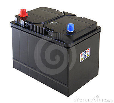 Free Car Battery Royalty Free Stock Photography - 11964157