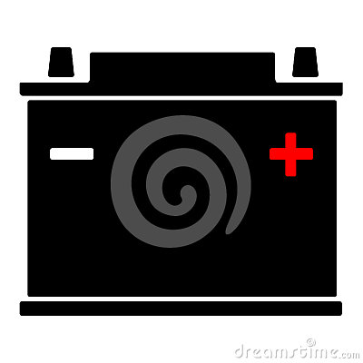 Free Car Battery Icon Stock Photo - 44368390