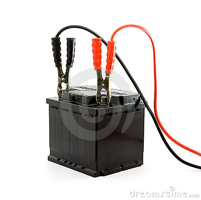 Free Car Battery Jump Start Royalty Free Stock Photo - 9073885