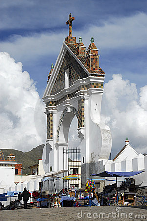 Free Car Blessing, Cathedral Of Copacabana, Bolivia Royalty Free Stock Photo - 11443515