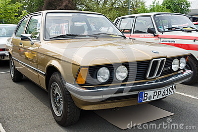 Car BMW 320 (E21) Editorial Stock Image