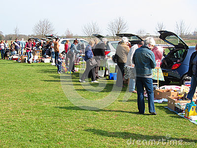 Turvey Car Boot Sale