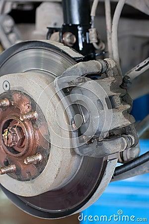 Car brake gear