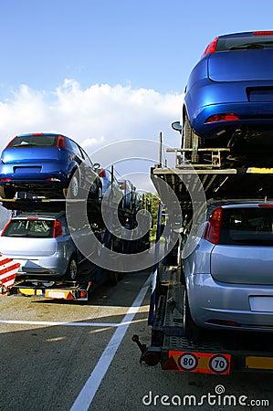 Car-carrier trucks