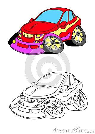 Car cartoon 11