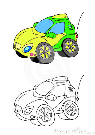 Car cartoon 4