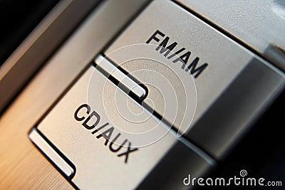 Car cd-radio control buttons