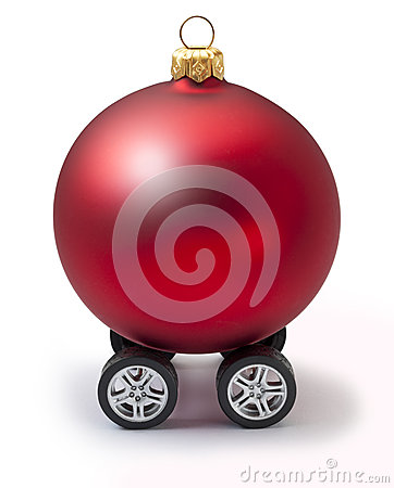 Car Automotive Christmas Vacation Ornament