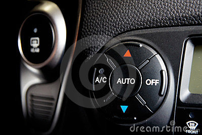 Car condicioner controls