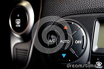 Car condicioner controls