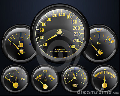 Car Counters Stock Image - Image: 21110831