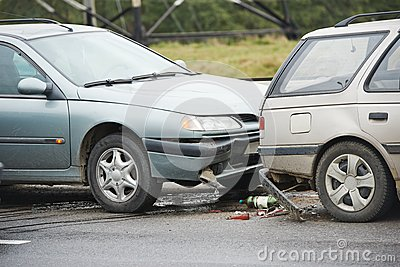 Car crash collision