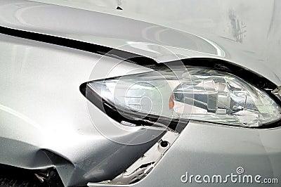 Car damage.