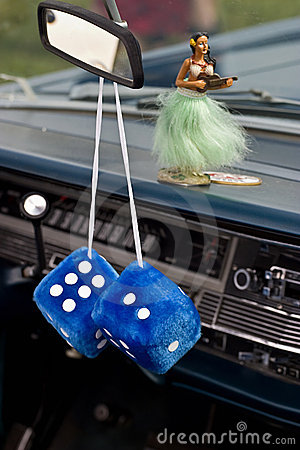 Free Car Dice Royalty Free Stock Photography - 5061987