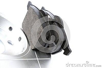 Car disc brake set