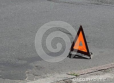 Car emergency sign