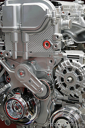 Free Car Engine. Royalty Free Stock Image - 4976206