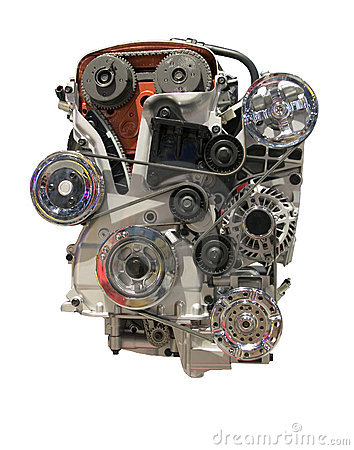 Free Car Engine Stock Photo - 704330